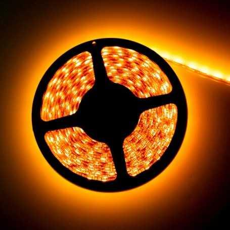 Led flexible orange