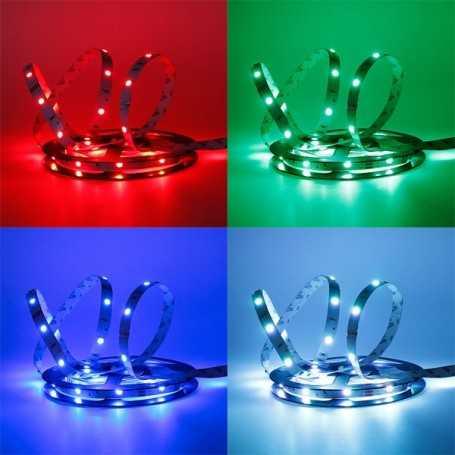 Bande LED RGB changement de couleur 30LED/m IP20 2m50