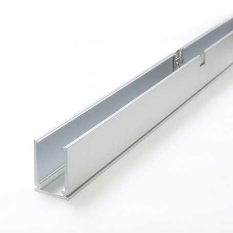 Profilé aluminium autobloquant de 1m pour led néon bulbe (mono couleur et RGB)