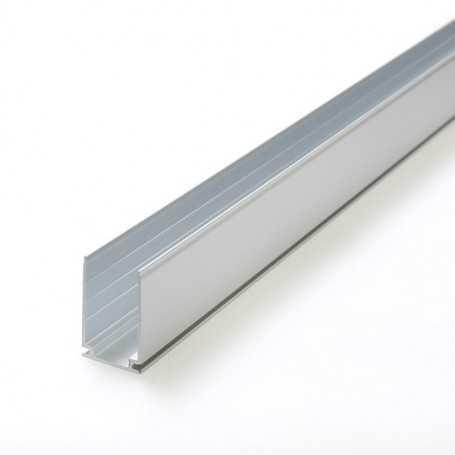 Profilé aluminium de 1m pour néon led flexible bulbe
