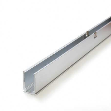 Profilé aluminium de 1m pour led néon flex slim