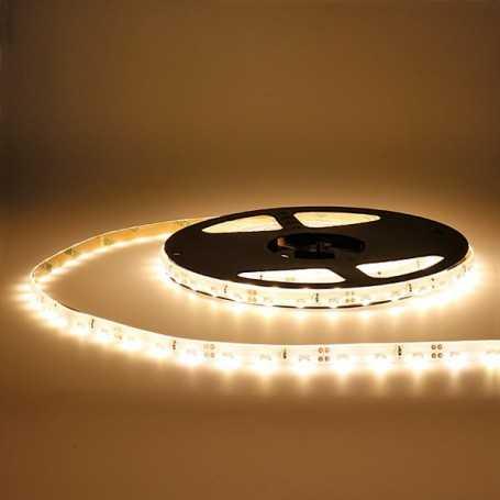 Bande LED side blanc chaud 60LED/m étanche 5m