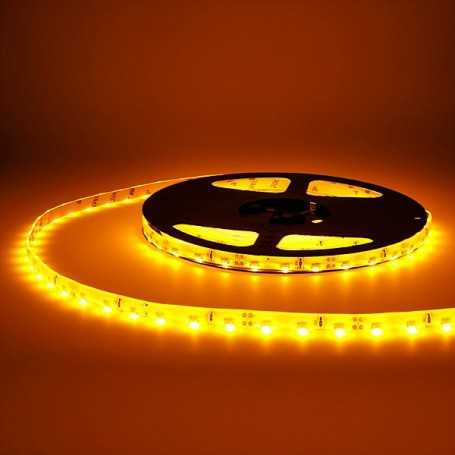 Bande LED side orange 60LED/m étanche 5m