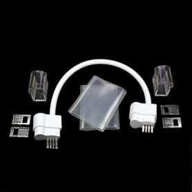Connecteur pour 2 néon led bulbe RGB