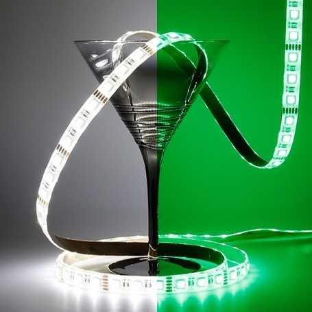 Ruban RGBW association des led vertes et blanches