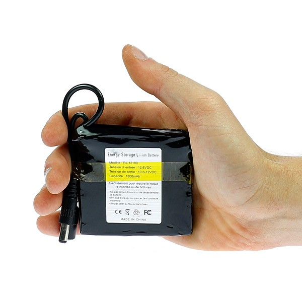 Éclairage Led Rechargeable Pour 12v Batterie 1800mahIdéale dtsQhrC