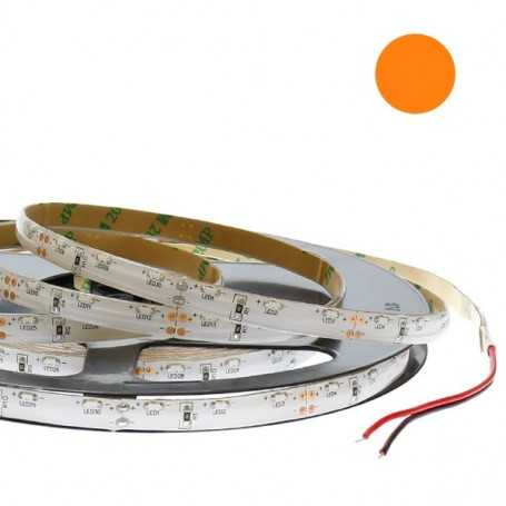 Kit bande led side orange 60led/m étanche 5m 12V tuning moto