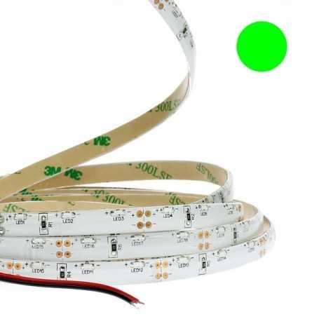 Ruban led éclairage de côté tuning moto vert 1m - Etanche IP65