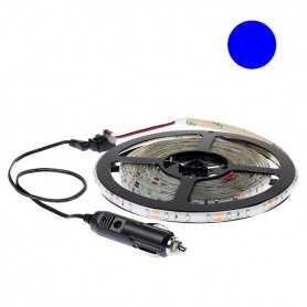 Kit bande led bleue 60led/m étanche 5m 12V tuning auto