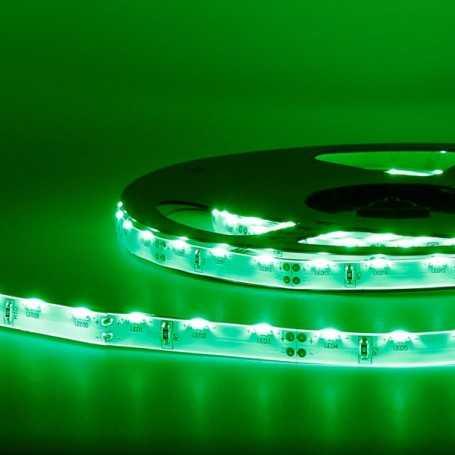 Bande led éclairage sur le côté vert 2m50 - 60 led au mètre