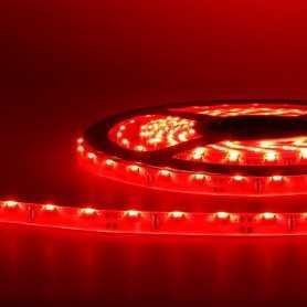 Bande led éclairage sur le côté rouge 2m50 - 60 led au mètre
