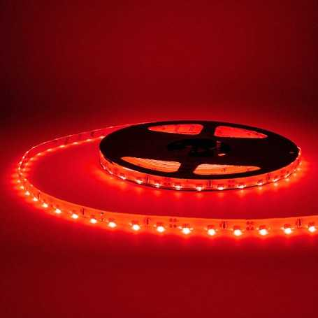 Bande led side rouge 60led/m étanche 5m