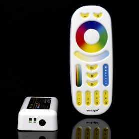 Kit contrôleur LED RGBW multizone 12/24V Mi-Light (MiBOXER)