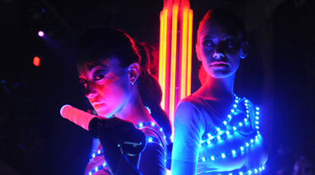 Kit bande led RGB piles Danseuse David Guetta