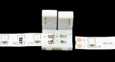 Connecteur rapide pour ruban led non étanche - tutoriel étape 1