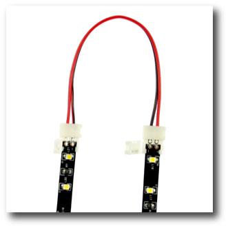 Connecteur rapide souple 2 bandes leds monocouleurs tutoriel étape 1