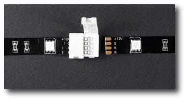 Connecteur rapide 2 bandes leds tutoriel étape 2