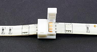Connecteur rapide 2 bandes leds tutoriel étape 3