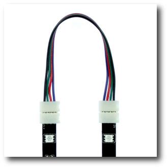 Connecteur rapide souple 2 bandes leds RGB tutoriel étape 2