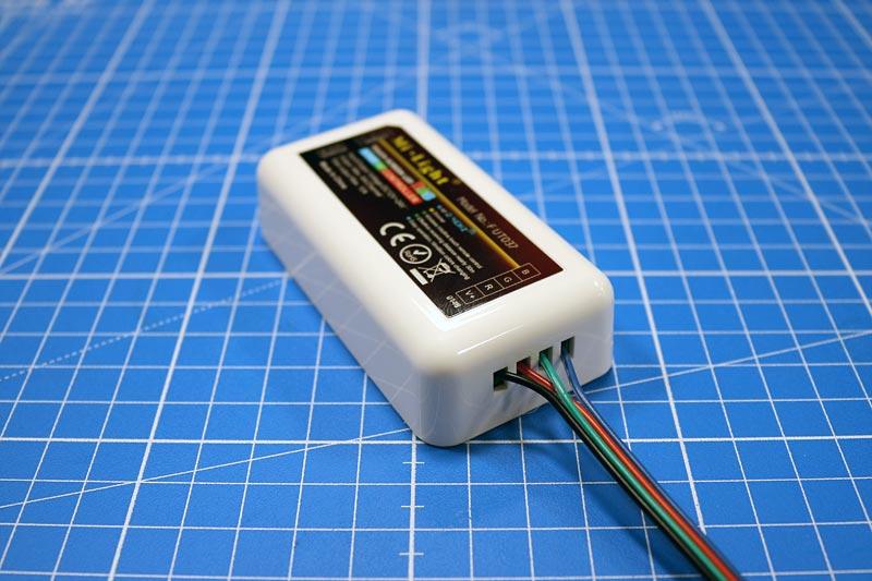Branchement du ruban led RGB sur le contrôleur multizone