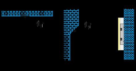 Montage en surface d'un profilé led néon