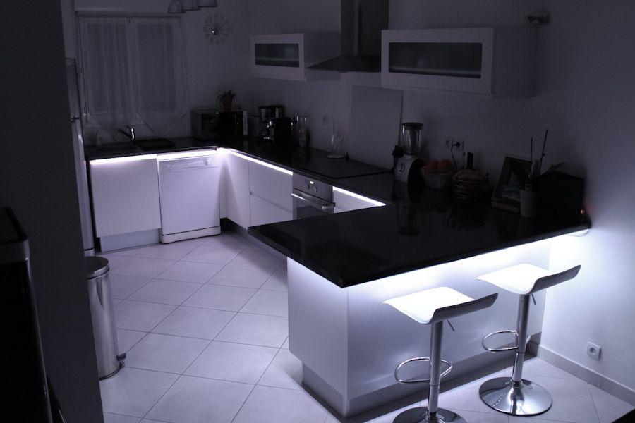 Ruban led en blanc froid pour la cuisine