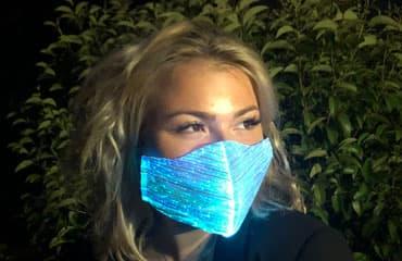 Masque lumineux RGB whaouuuu