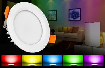 Spot LED encastrable RGB+CCT