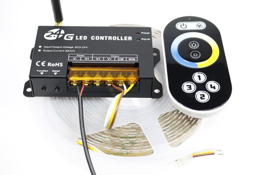 Branchement électrique du contrôleur CCT